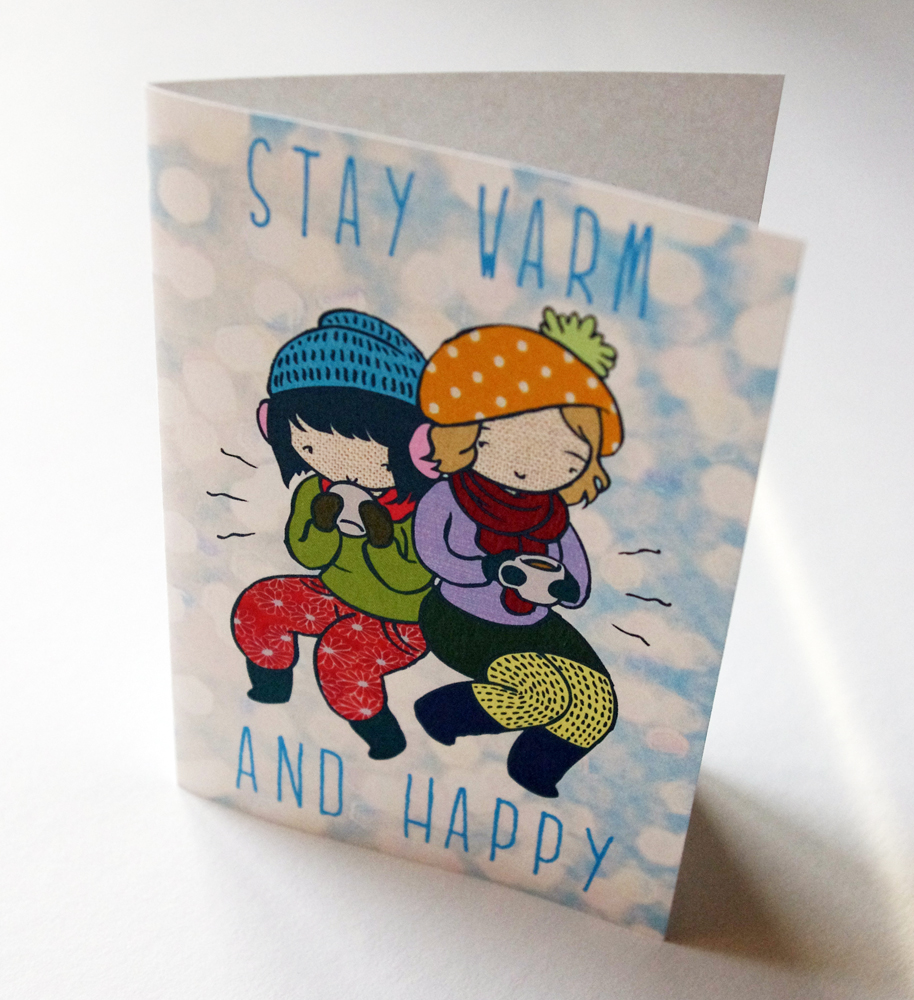 Non Denominational Holiday Cards Stasias Studio