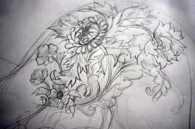 brendans sleeve sketch 01