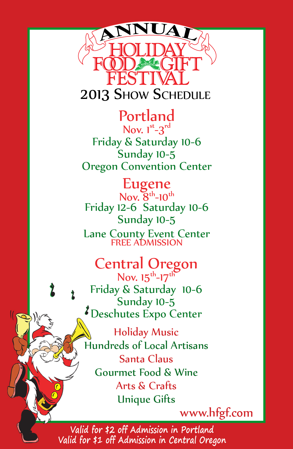 Holiday Food And Gift Festival  Portland