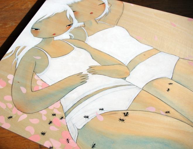 ant sisters detail