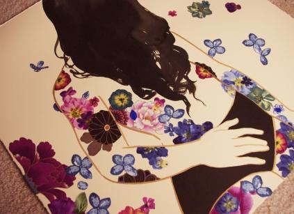 black violet detail